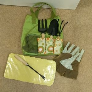 Brand new gardening bag with tools too